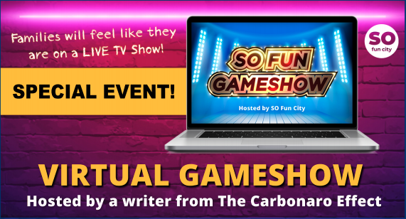 SO Fun City Virtual Family Game Show (All Ages)