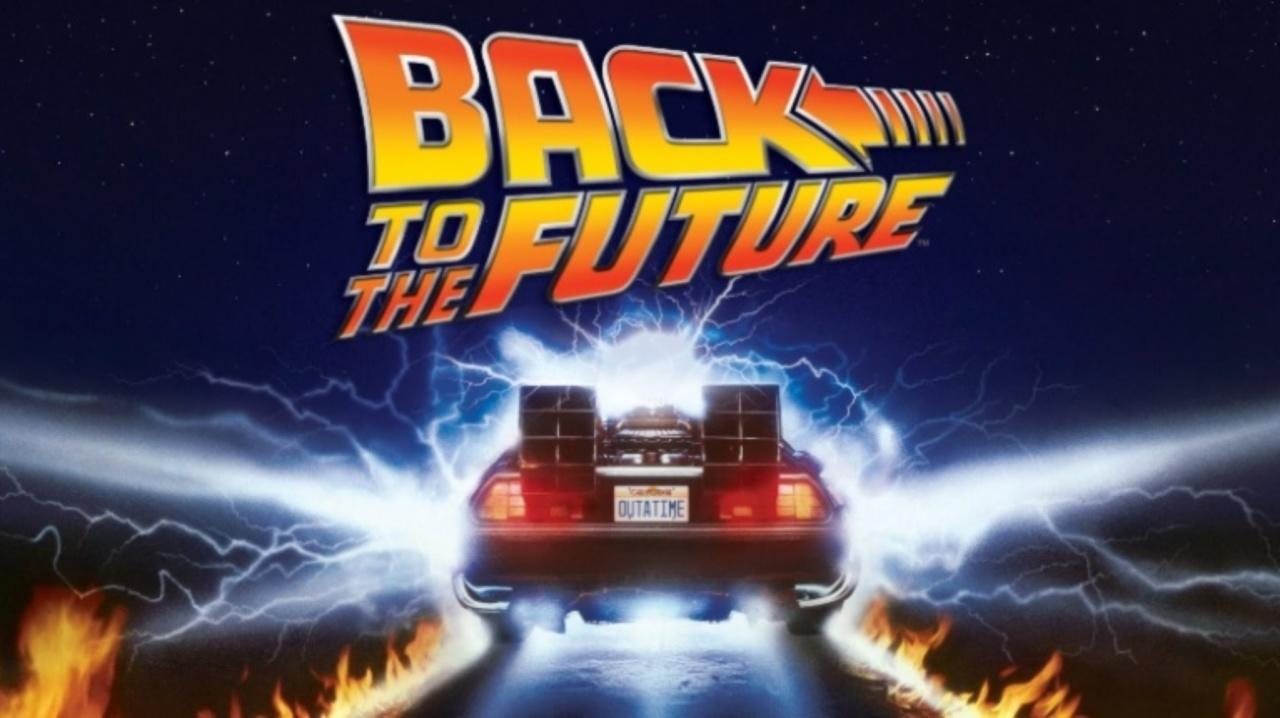 Dinner & a Movie in the Garden | Back to the Future (35th Anniversary)